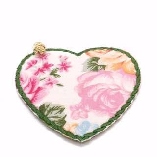 Charmed Fabric Bookmark (Green Garden)