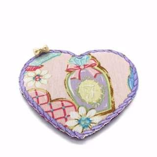 Charmed Fabric Bookmark (Pretty Pastel Purple)