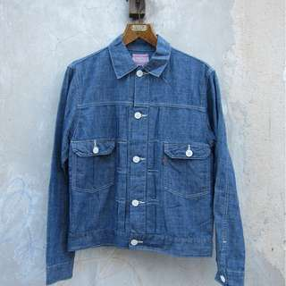 Levi's chambray type 2 jacket