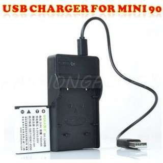 USB Charger for Mini 90 Battery [Fujifilm NP-45A]