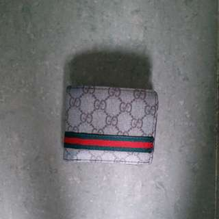 Gucci wallet only used 2 month