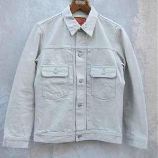 Denime White Type 2 jacket Selvedge