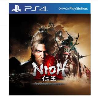 Ps4 Nioh Complete Edition R3