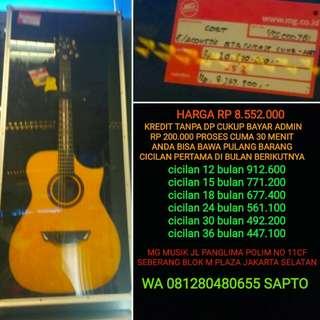 Gitar Cort Luxe Bisa Cicilan Tanpa dp
