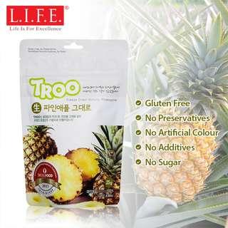 Korean Natural Freeze-dried Fruit (Natural Pineapple) 韓國天然冷凍乾果 (菠蘿)