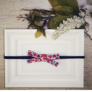 Wiltshire | Liberty with Navy Blue Headband