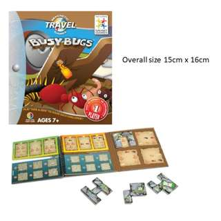 SmartGames - Magnetic Travel Games - Busy Bugs
