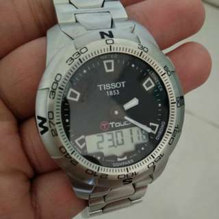 Tissot t touch II tactile luxury watch for men