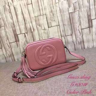 Gucci Leather Sling bag