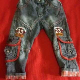 Jins children wear usia 1,5 -3 thn