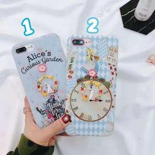 《預購》蘋果手機-Alice愛麗絲夢遊仙境吊飾手機殼-iphone6.iphone7.iphone8.iphoneX