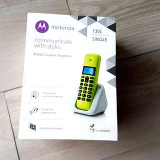 Motorola T301 Single digital cordless phone