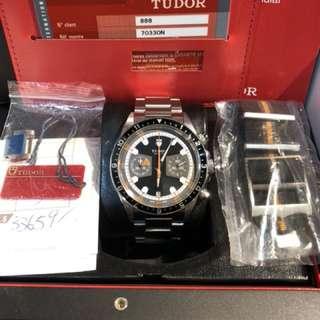 Tudor-7033ON-黑貓-888行貨-Full Set-有買單!