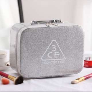 Cosmetic Box 3CE SLIVER GLITTER