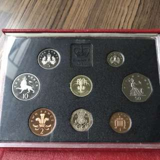 UK 1990 Proof Coin Set
