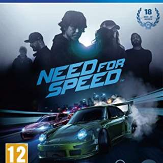 Ps4 game 遊戲 need for speed 2015 中文版