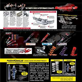SUPERSPRINT EXHAUST COME TAKE A LOOK !