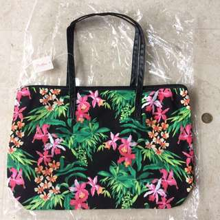 Millers Woman's Floral Tote Bag