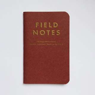 Field Notes: Notebook