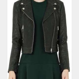 Rebecca Vallance Pelle Moto Leather Jacket