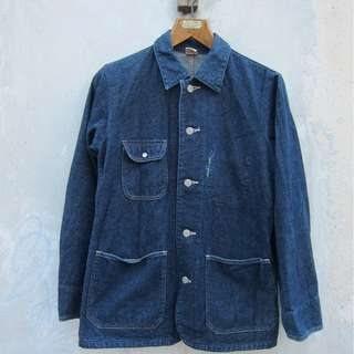 45r 45rpm Denim Chore jacket