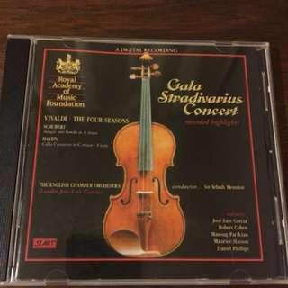 Audiophile classics cd Gala Stradivarius concert