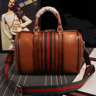 GUCCI style bag | Leather | Brown