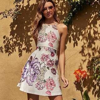 BNWT TCL Julissa Printed Dress
