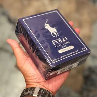 Authentic Ralph Lauren Polo Blue EDP Perfume 125ml Limited Stock First Come First Served 😎👍