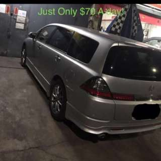 MPV Honda Odyssey (For Rent)