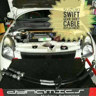 Suzuki Swift : Gear_Shift_Cable replacement.