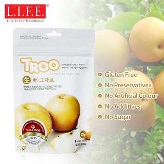 Korean Natural Freeze-dried Fruit (Pear) 韓國冷凍乾果-水晶梨