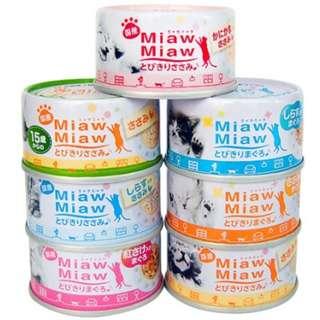Aixia Miaw Miaw Cat Food 60g, 24 cans
