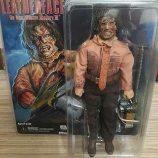 LEATHERFACE III RETRO CLOTH FIGURE