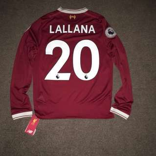 Brand new Liverpool FC top