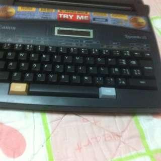 Canon typewriter