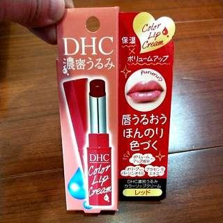 DHC 濃密滋潤色彩護唇膏(紅)