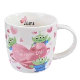 日本 Disney Store 直送 Toy Story 反斗奇兵三眼仔情人節限定陶瓷杯