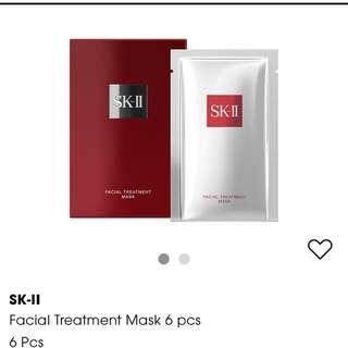 SKII Facial Treatment Mask 6pcs in a box