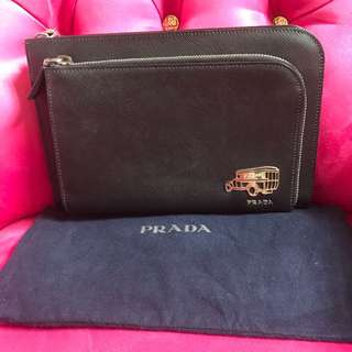 PRELOVED Prada Mens Clutch