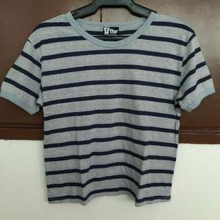 Cotton On Grey & Blue T-Shirt