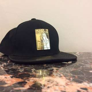 ADIDAS Originals Gold Plated box logo snapback
