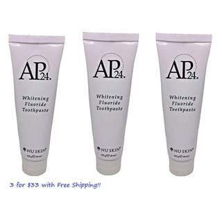 AP 24 Whitening Fluoride Toothpaste 2 pack