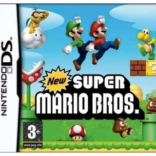 🚚 [IN STOCKS] New Super Mario Bros for Nintendo DS/2DS/3DS