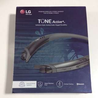 LG Tone Active+ Bluetooth Wireless Stereo Headset
