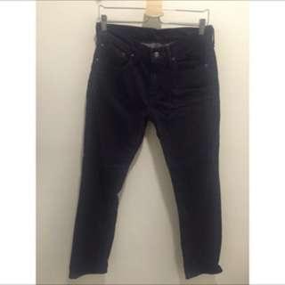 Levi's 黑色牛仔褲