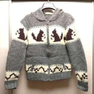 冷外套 日牌Pageboy Knitted Jacket 有帽外套