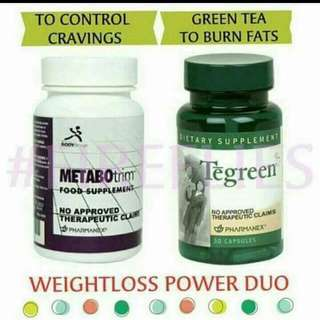 Tegreen and Metabotrim