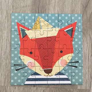 Fox 24-pc Mini Puzzle