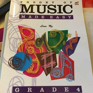 Theory of music made easy grade 4 piano